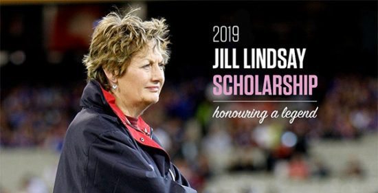 The 2019 Jill Lindsay Scholarship – Applications Now Open
